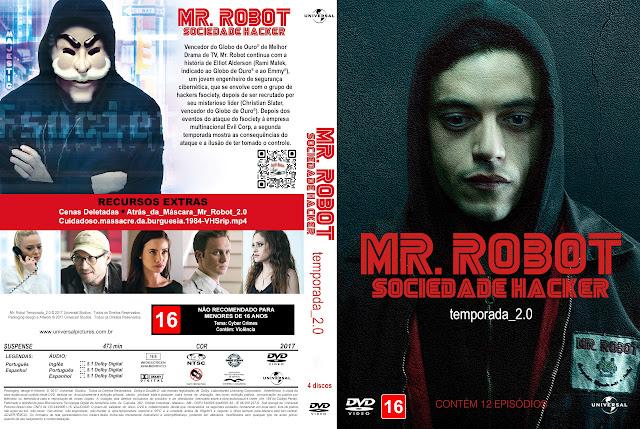 Capa DVD Mr. Robot Segunda Temporada [Exclusiva]