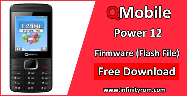 QMobile Power 12 Flash File MT6261 100% Tested Bin - Mobile