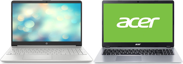 HP 15s-fq1118ns vs Acer Aspire 5 A515-43-R4HV