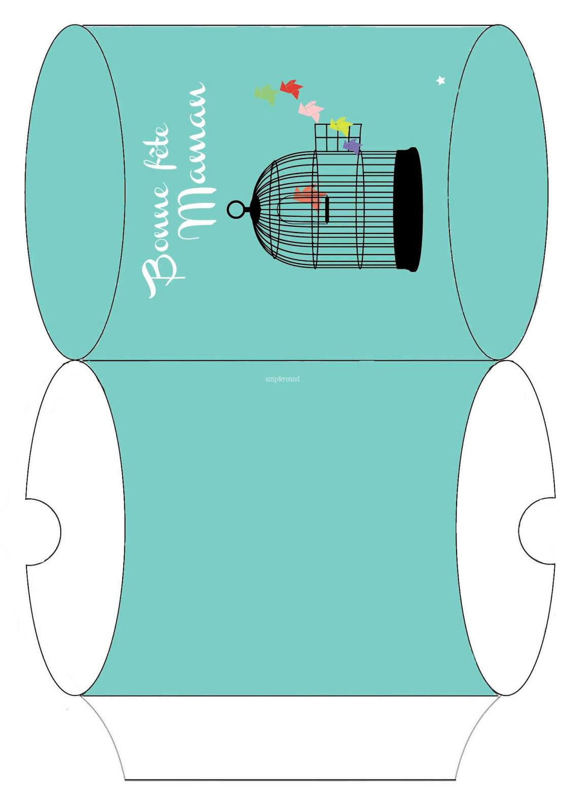 mon ampersand des tags et une pochette cadeau imprimer. Black Bedroom Furniture Sets. Home Design Ideas