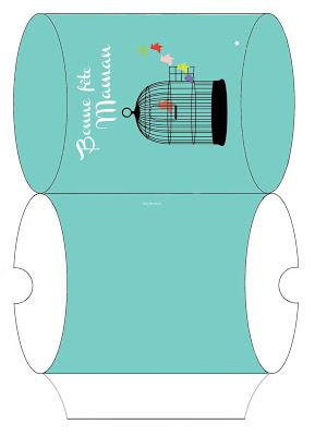 mon ampersand des tags et une pochette cadeau imprimer pour f ter les mamans. Black Bedroom Furniture Sets. Home Design Ideas