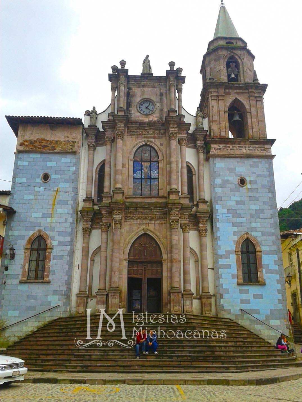 Iglesias Mexicanas Iglesia San Sim 243 N Apostol Angangueo
