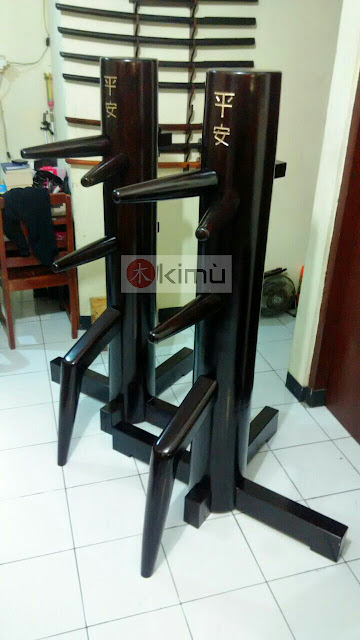 KIMU Dark Dragon Wooden Dummy / Mok Yan Jong