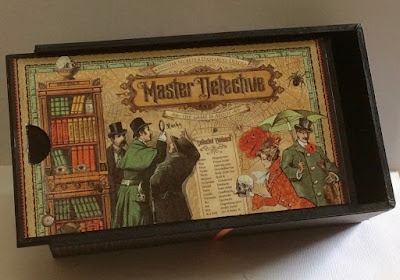 Master Detective Pencil Case and Mini Album 1 Clare Charvill Graphic 45