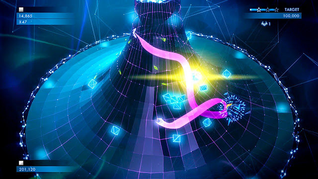 Screenshot from Geometry Wars 3