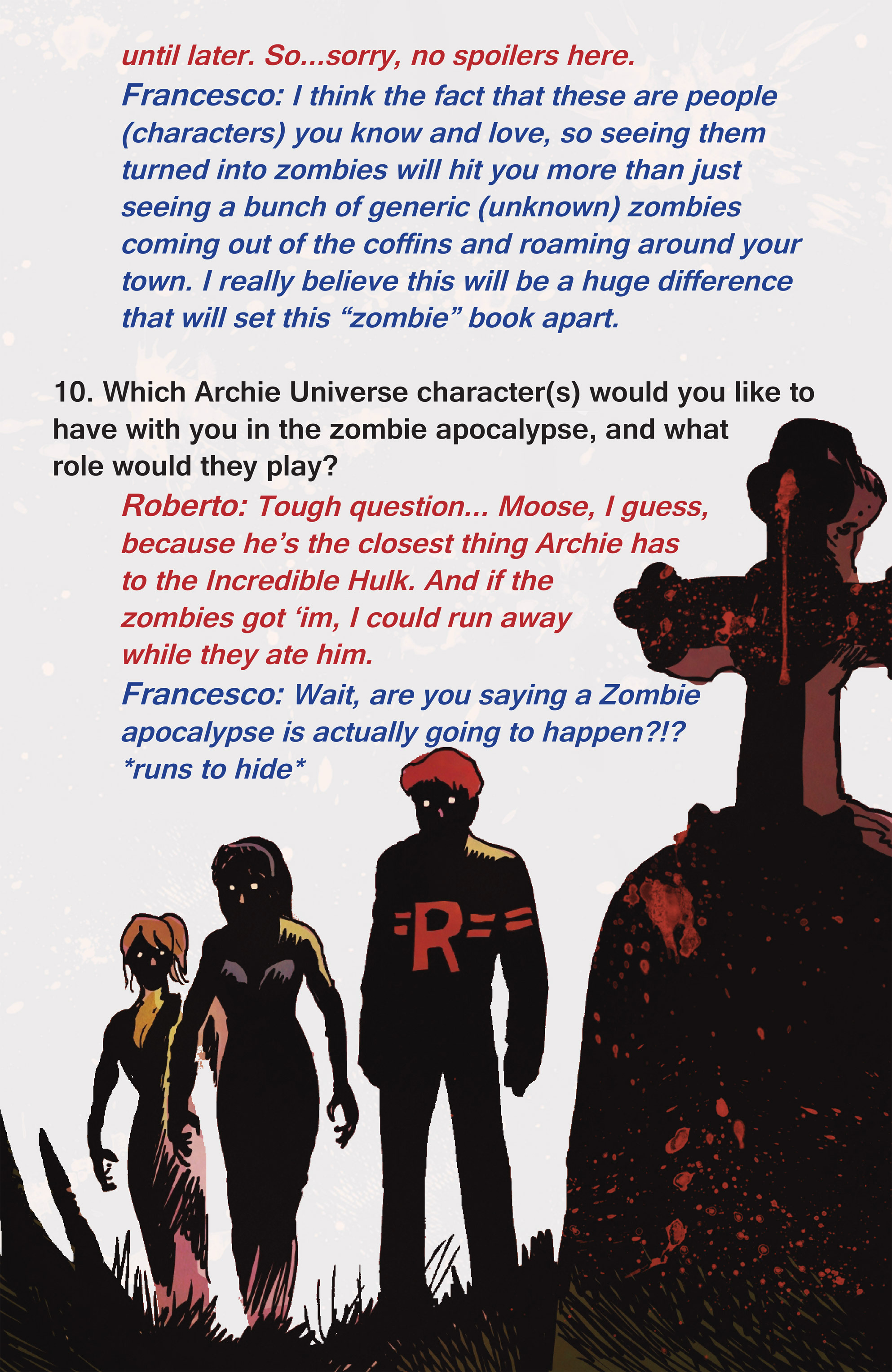 Read online Afterlife with Archie comic -  Issue #1 - 30