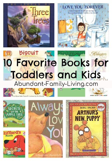 10 Favorite Books for Toddlers and Kids