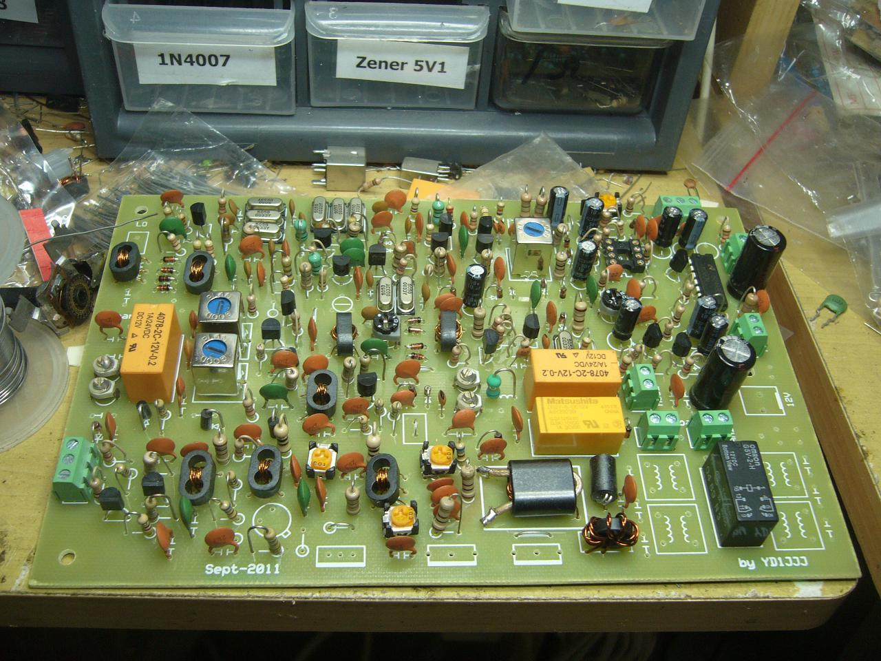 Circuit Diagram Ssb Transceiver 80m 40m Electronic Design