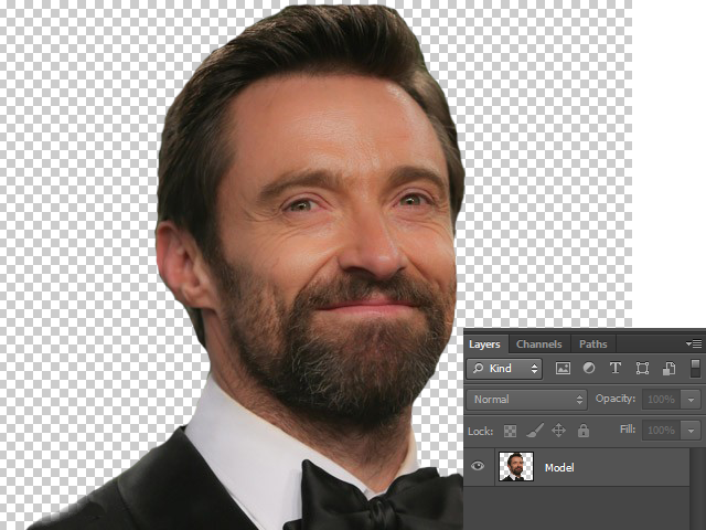 Remove its background with the help of Lasso Tool or Eraser Tool or by Layer Mask.