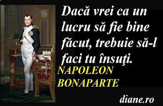 Napoleon Bonaparte în citate, maxime, aforisme
