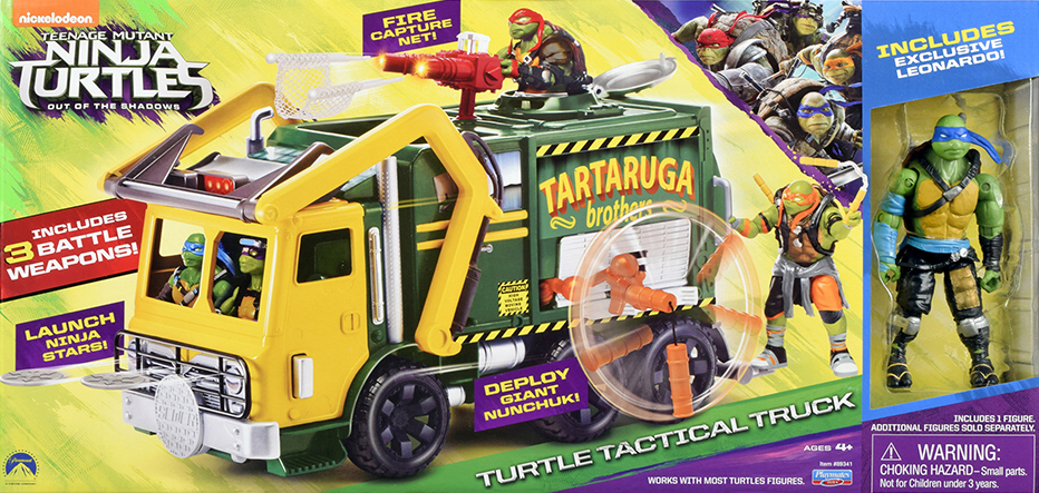 Teenage Mutant Ninja Turtles: Out of the Shadows - Turtle Tactical ...