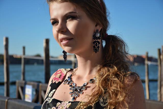 фотосессия в венеции в платье блогер Ninelly