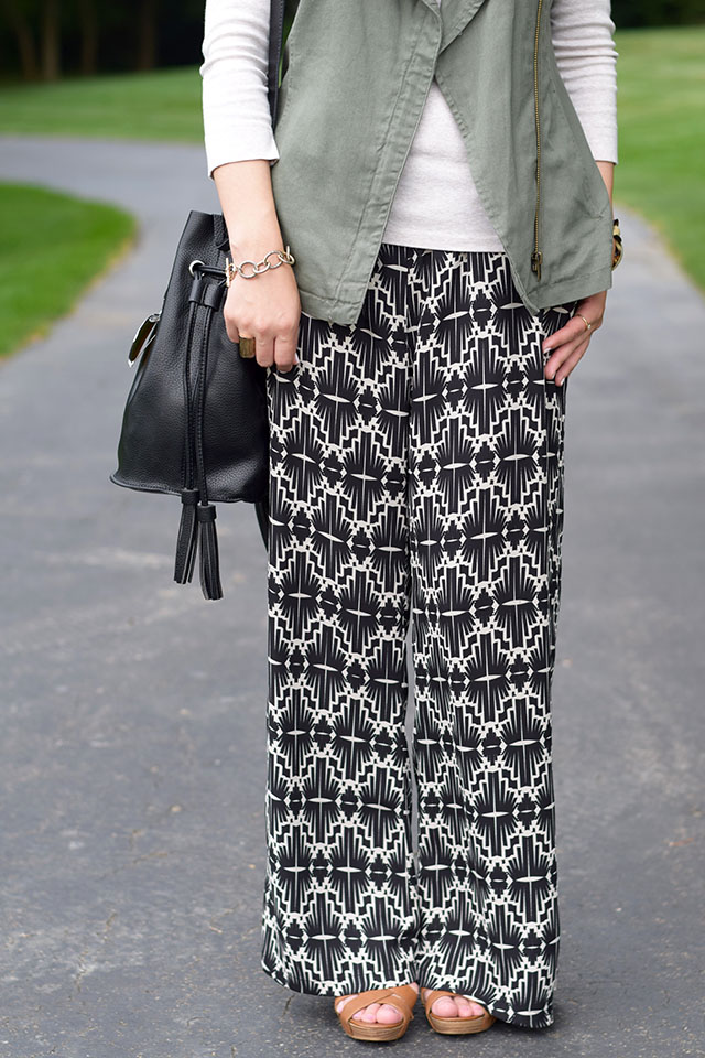 Fashion Blogger Style-Palazzo Pants-Pre Fall Style