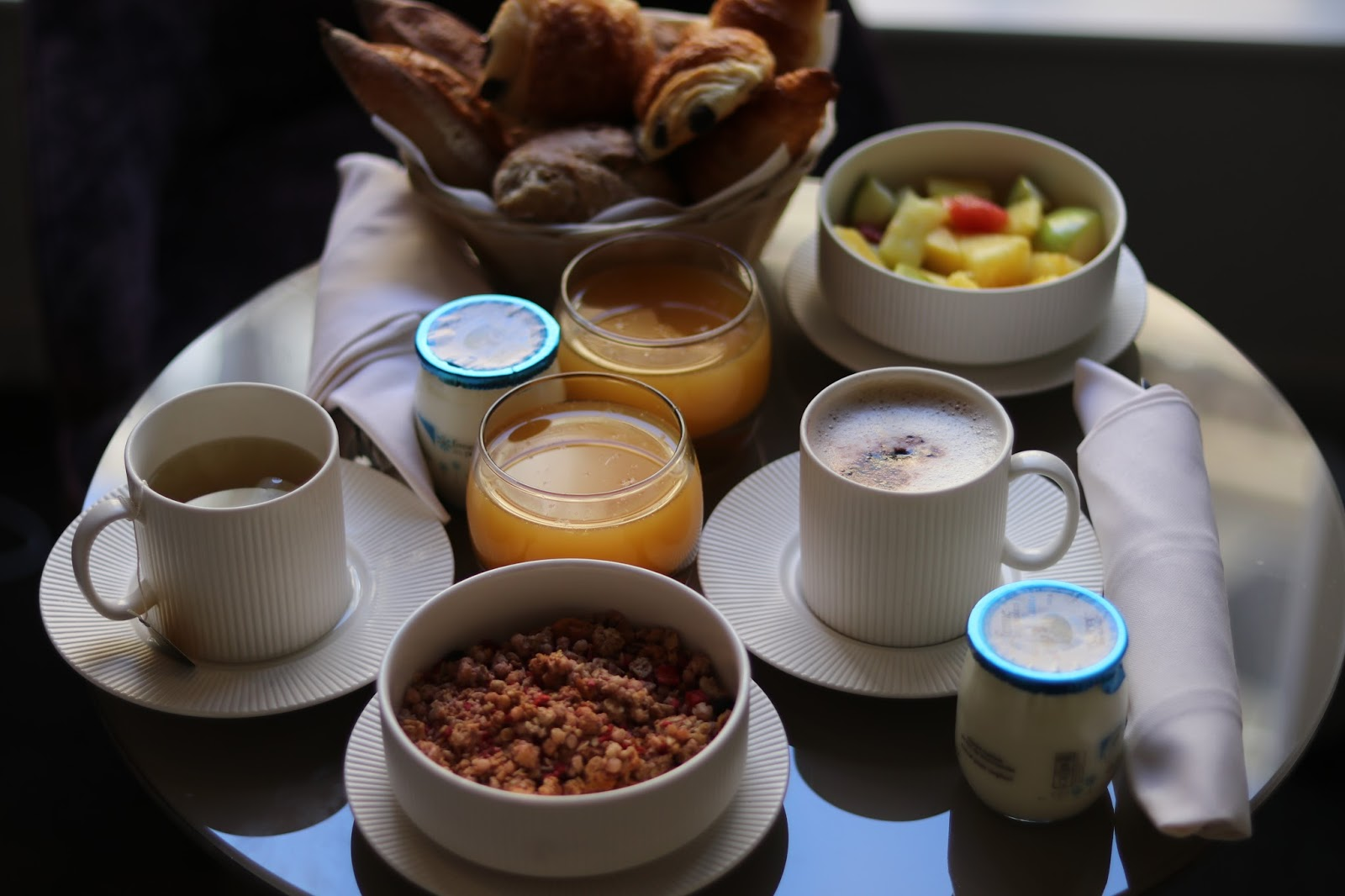 Breakfast at Pavillon des Lettres, Paris, France