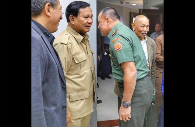 Silaturahmi Keluarga Besar TNI, Prabowo dan Jenderal Gatot Didoakan Jadi Pemimpin RI 2019