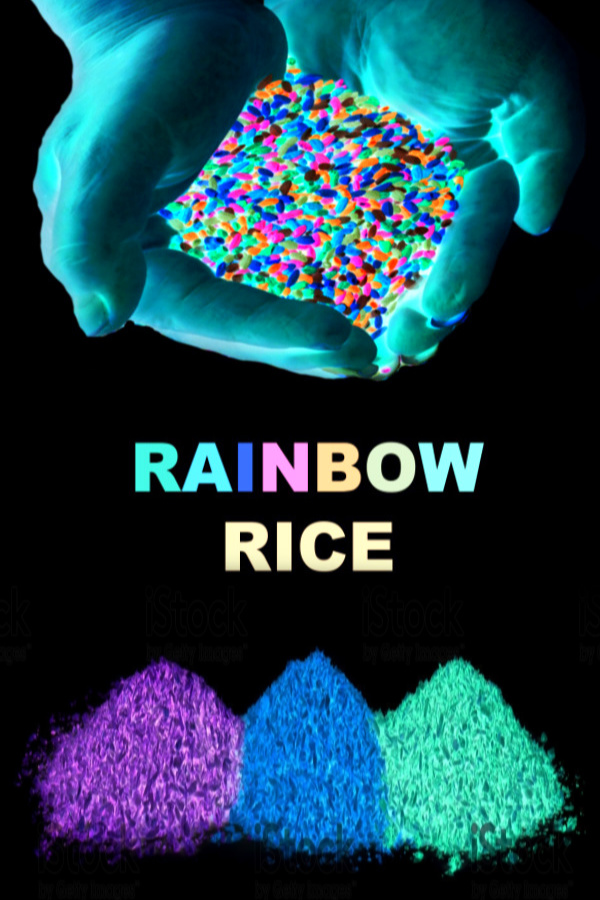 Glow In The Dark Rice Growing A Jeweled Rose
