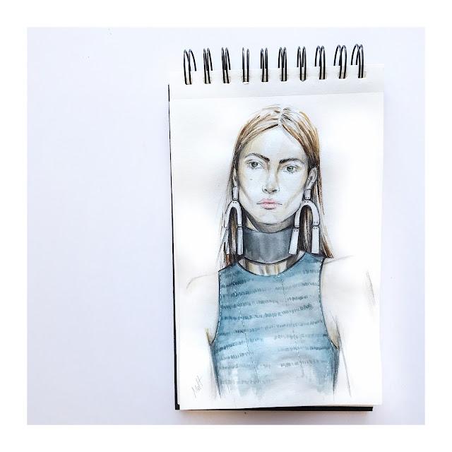 Proenza Schouler sketch look