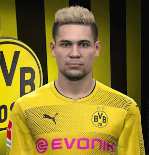 PES 2017 Faces Raphaël Guerreiro by FaceEditor Jefferson_SF