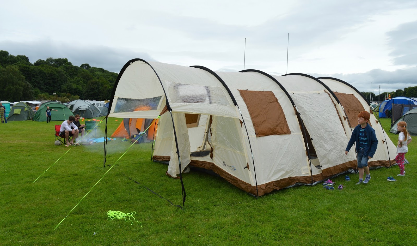 Corbridge Festival 2016 - A Review - camping field