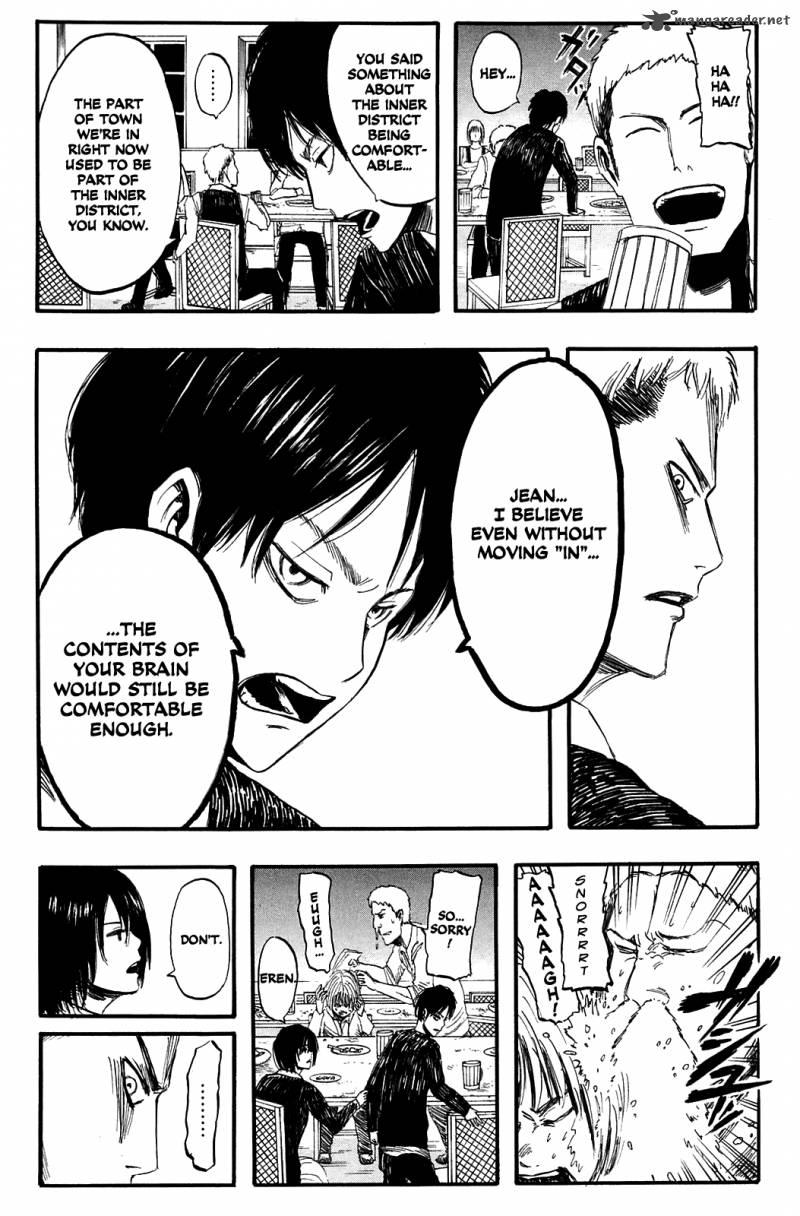 Shingeki no Kyojin Ch 3: The Night Of The Disbanding