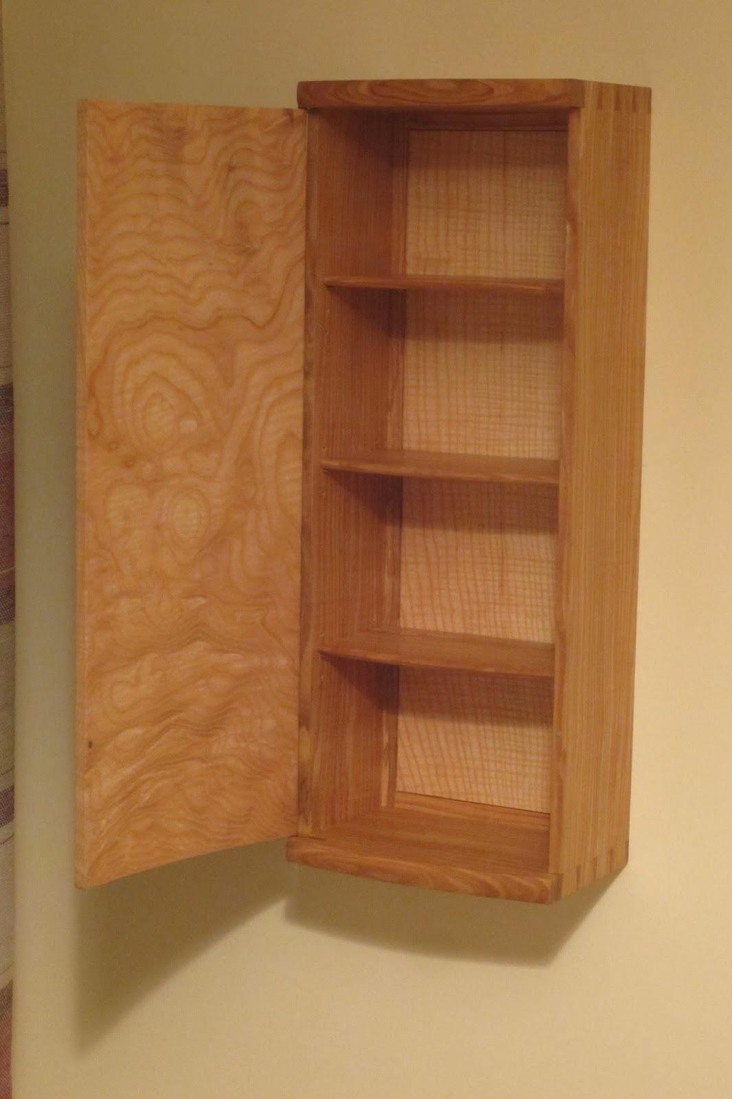 David Barron Furniture Krenov Style Wall Cabinet