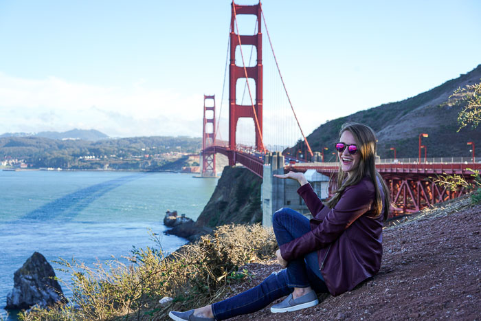 Krista Robertson, Covering the Bases, Travel Blog, NYC Blog, Preppy Blog, Style, Fashion Blog, Travel Post, Travel, San Francisco Trip, California, Golden Gate Bridge, SF Tourist Spots