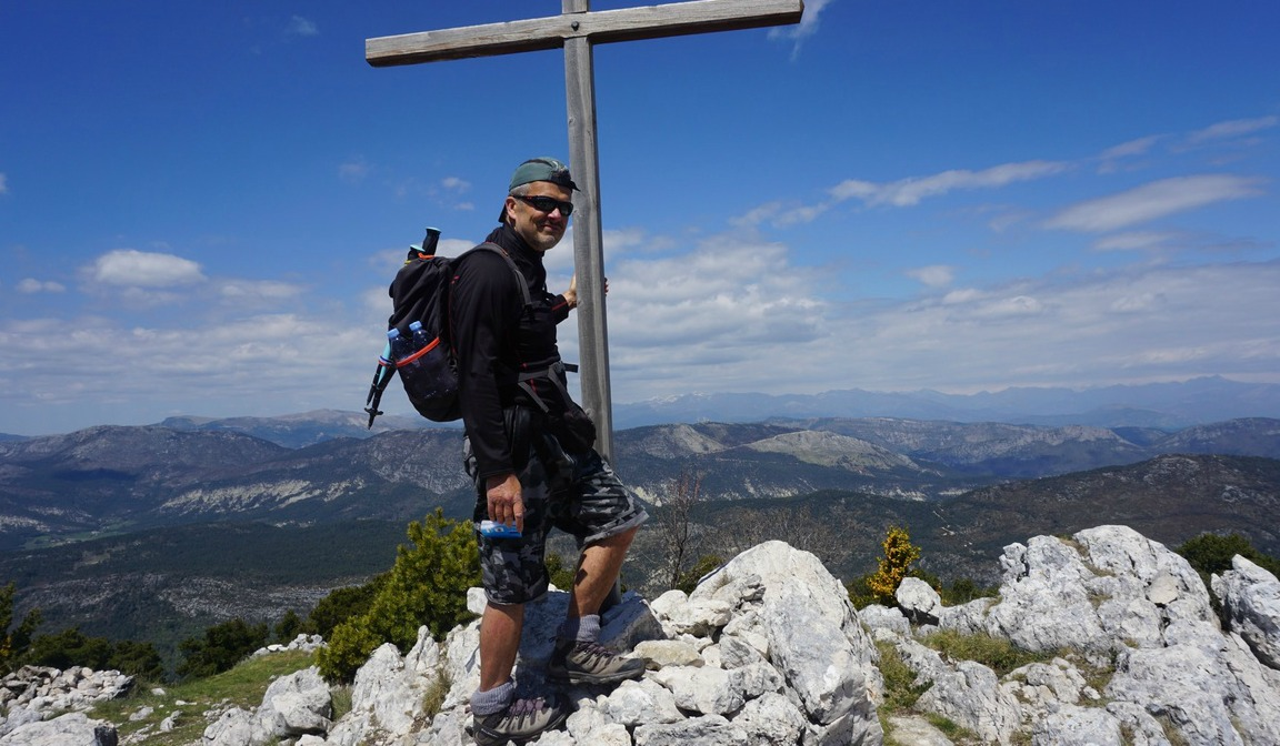 Summit of Bauroux 1644m