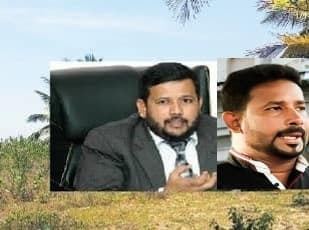 Risath Badiudeen's brother in land fraud