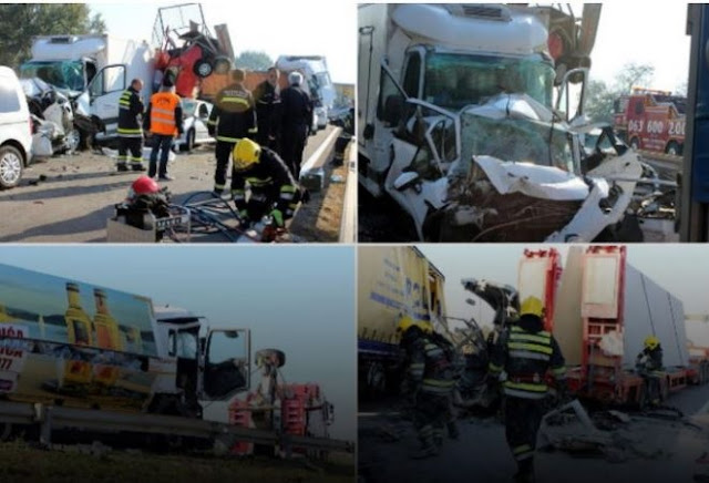 Massive car accident with 8 victims in Serbia, two Albanians among them