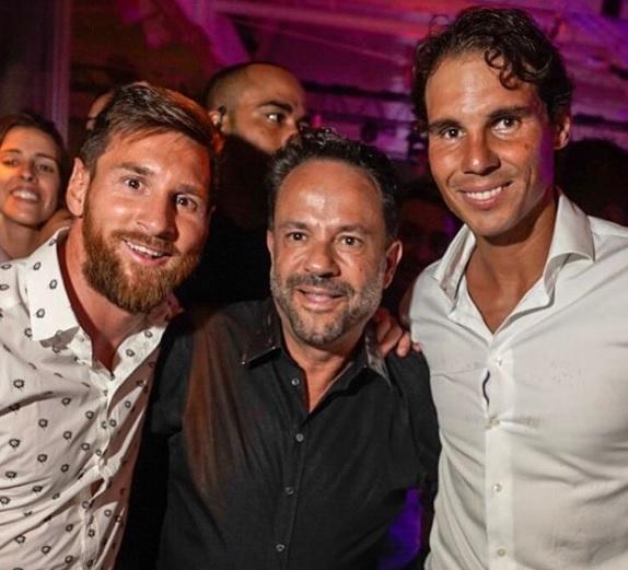 Messi y Nadal en Ibiza