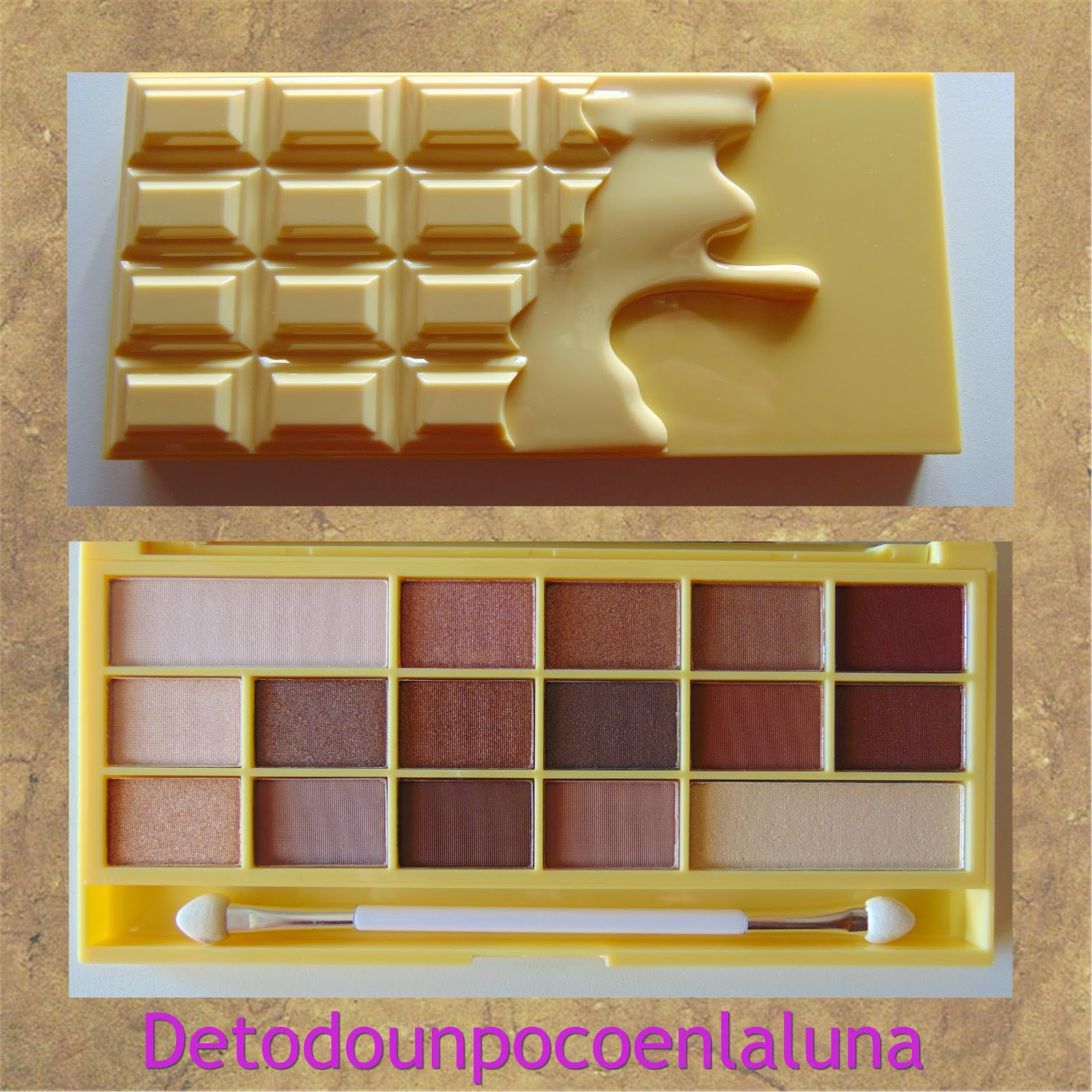 naked chocolate de I heart makeup