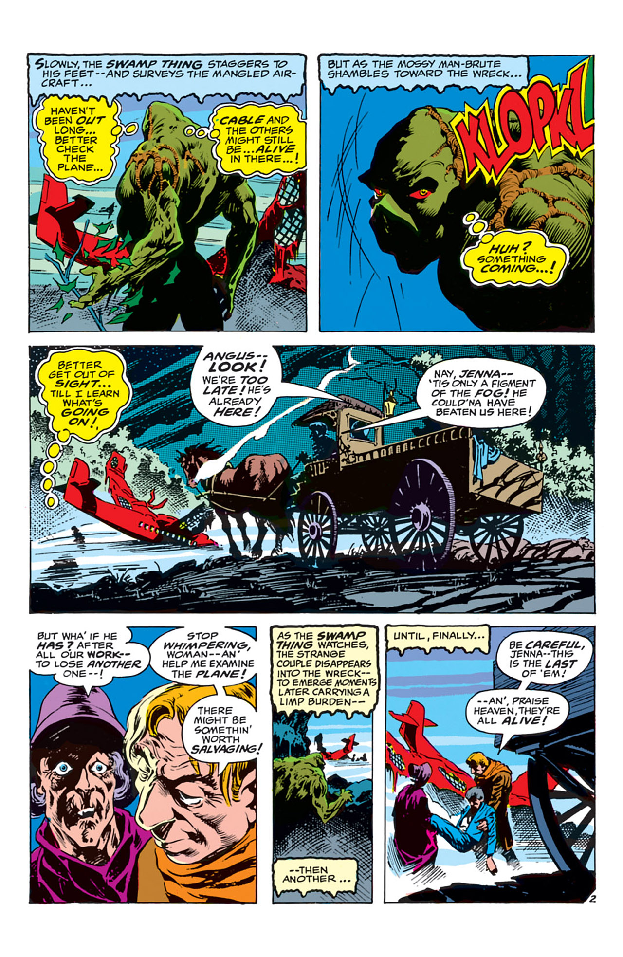 Swamp Thing (1972) Issue #4 #4 - English 3