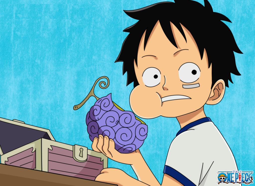 Pirate King Luffy Luffy Eats His Devil Fruit Gomu Gomu No