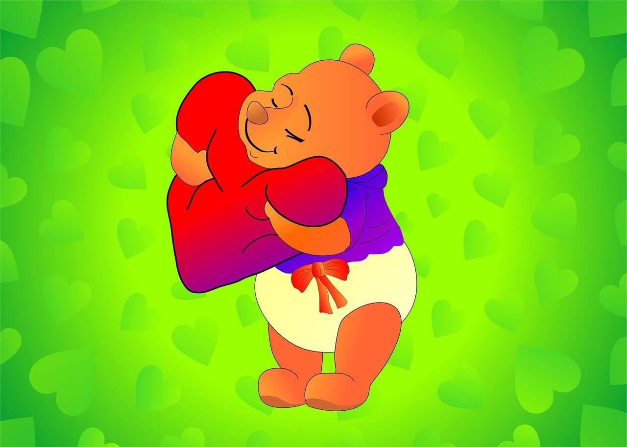 Valentines Week List Hug Day