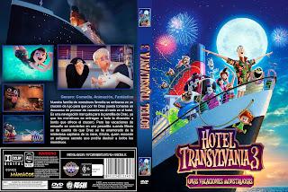CARATULA - HOTEL TRANSYLVANIA 3: UNAS VACACIONES MONSTRUOSAS - Hotel Transylvania 3: Summer Vacation