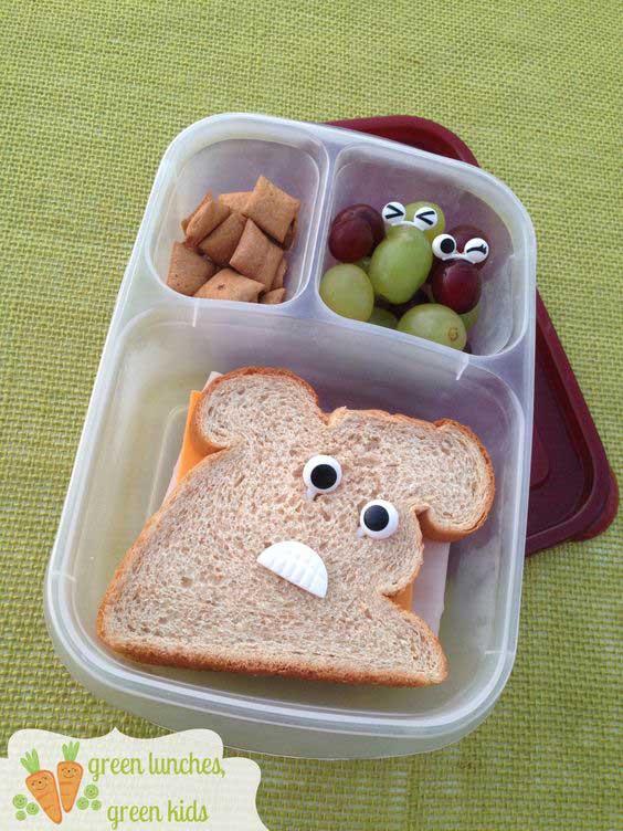 бутерброды на детский стол