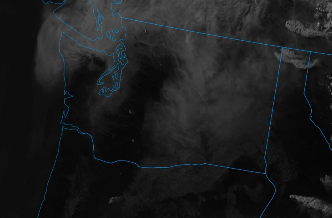 Cliff Mass Weather and Climate Blog Smoke Pushes Into Washington