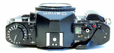 Canon A-1, Top