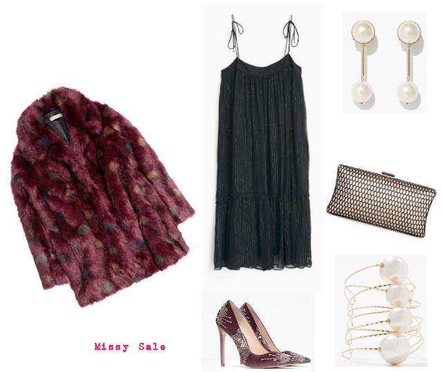 Cena con amigos Navidades Nochevieja sleepwear vestido collage -Missy Sale-