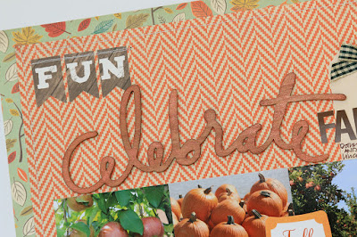 Celebrate Fall Scrapbook Page by Juliana Michaels featuring My Creative Scrapbook November Main Kit
