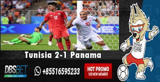 tunisia 2-1 panama piala dunia 28 juni 2018
