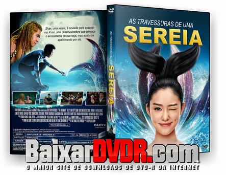 As travessuras de uma sereia (2017) DVD-R Autorado Dual Audio