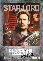 Guardians of the Galaxy Vol. 2 Movie Poster 6 Chris Pratt