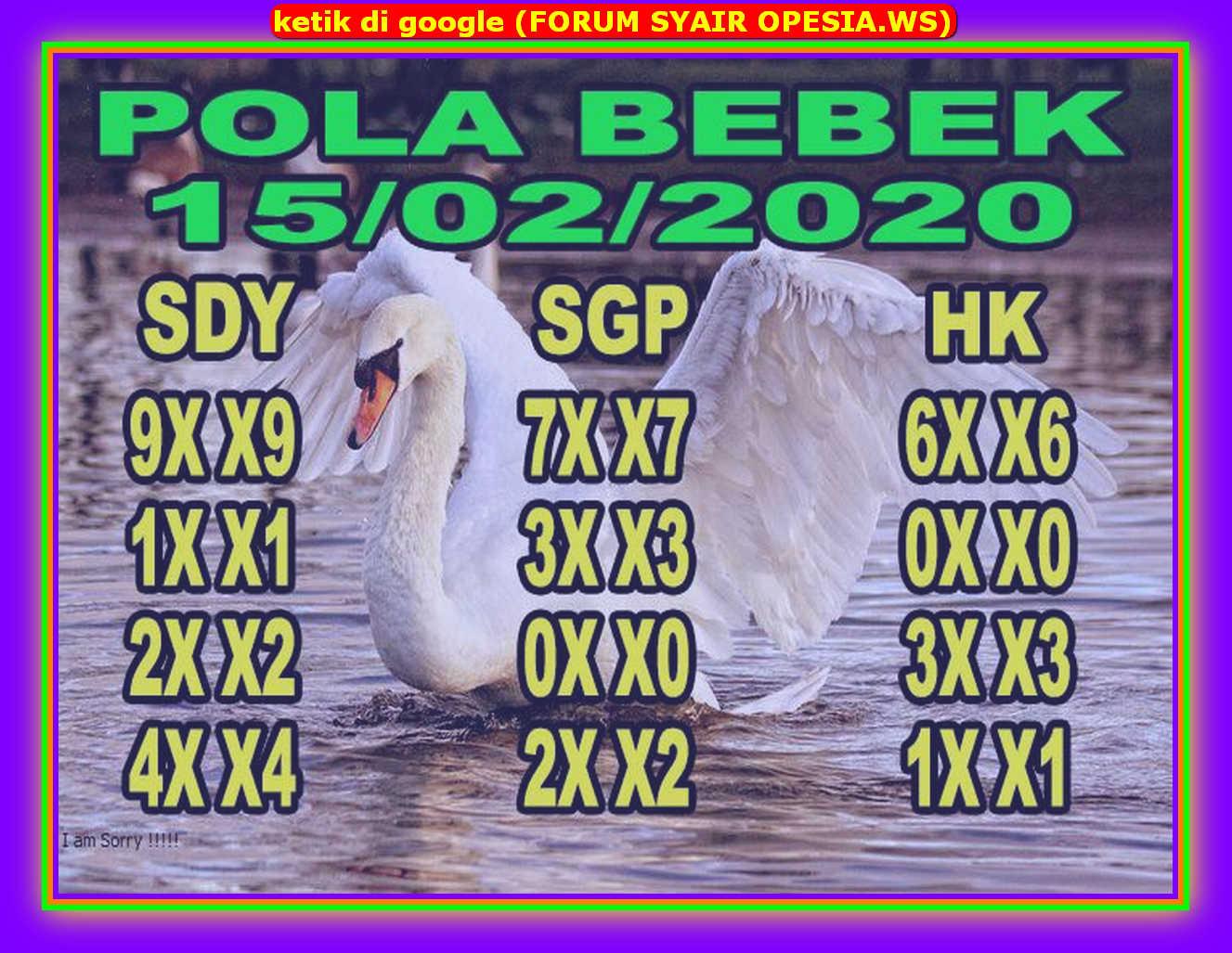 Kode syair Sydney Sabtu 15 Februari 2020 37