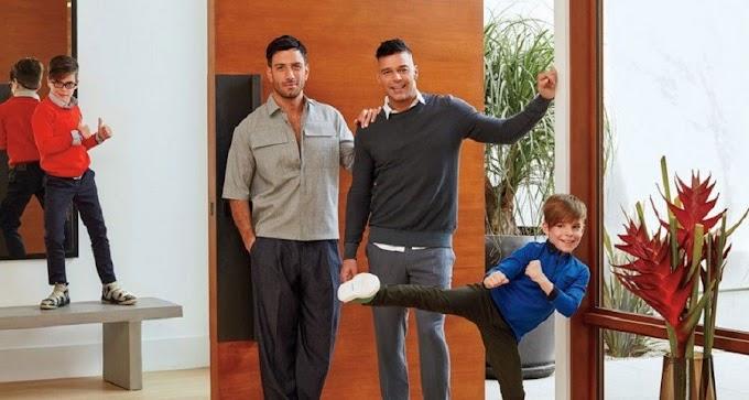 Ricky Martin e o marido mostram nova mansão do casal em Los Angeles