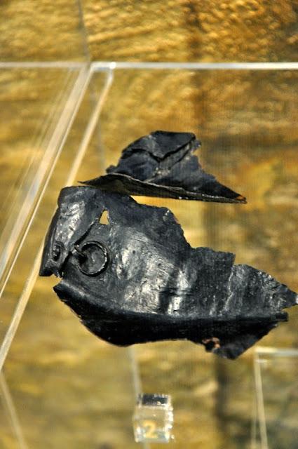 rzymskie artefakty z Czech, wystawione na zamku w Mikulovie
