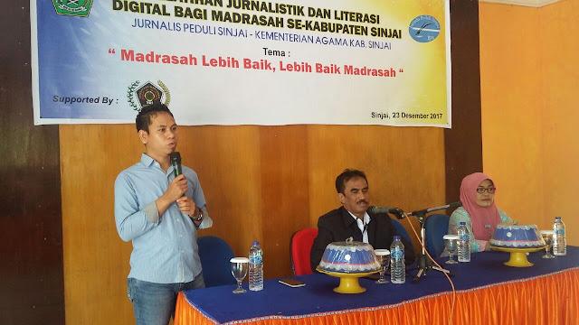 Syamsul Bahri - Pelatihan bagi guru dan siswa se-Kabupaten Sinjai