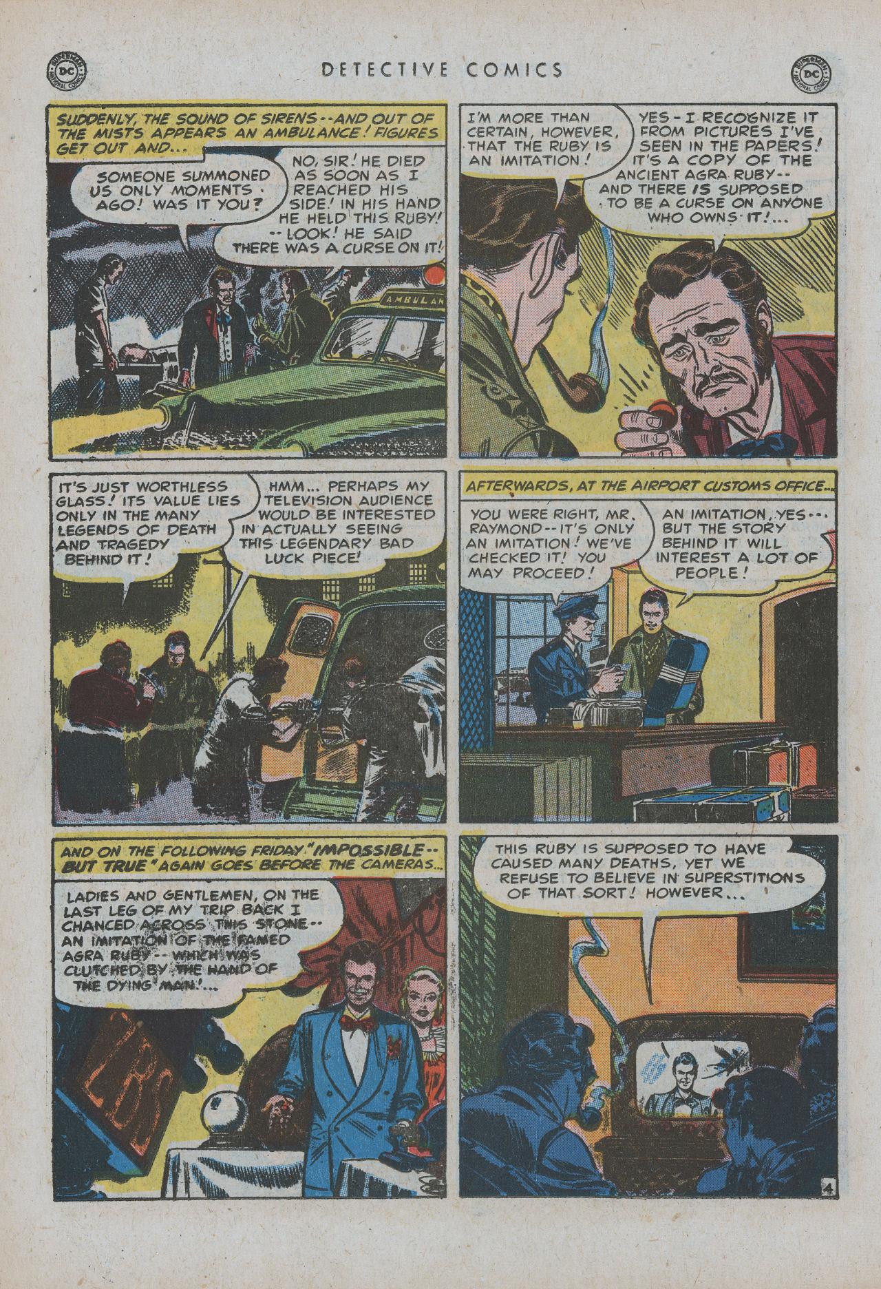 Read online Detective Comics (1937) comic -  Issue #154 - 20