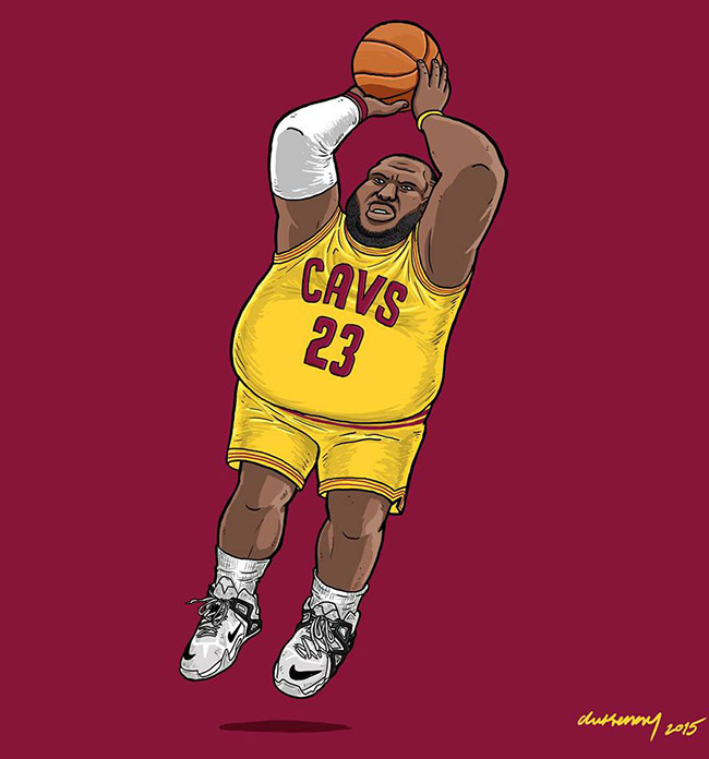 Rafael Dukenny - #YellowMenace Basketball Art Collection