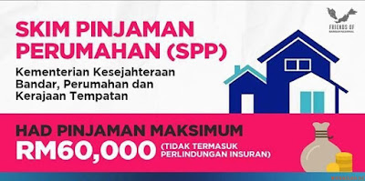 Permohonan Skim Pinjaman Perumahan (SPP) 2018 Online